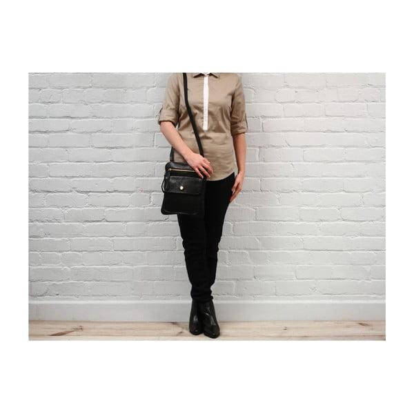 Dámská kožená taška Tess Black