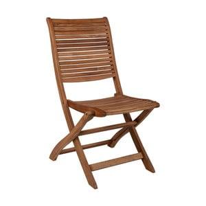 Skládací židle z teakového dřeva Crido Consulting Marlen