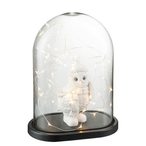 Dekorativní poklop s LED světýlky Bell, výška 37 cm