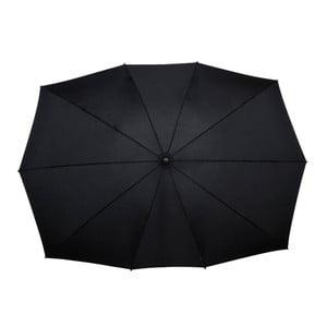 Umbrelă dreptunghiulară pentru 2 persoane Ambiance Golf, 150 cm, negru
