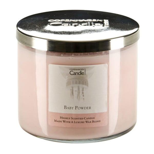 Aroma svíčka Baby Powder, doba hoření 50 hodin