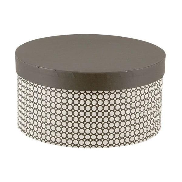 Sada 5ks úložných krabic Hat Black
