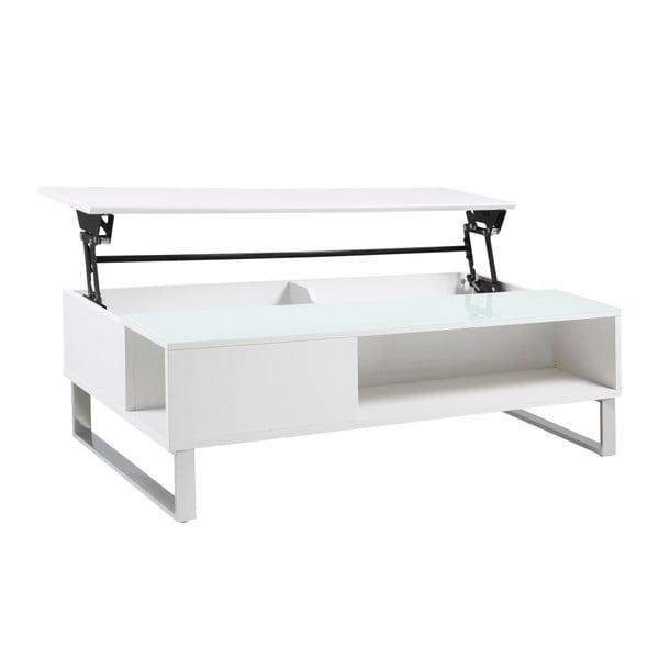 Bílý konferenční stolek Actona Azalea