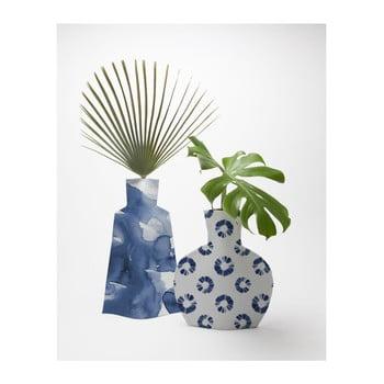 Set 2 vaze Surdic Flower Vases Azul de la Surdic