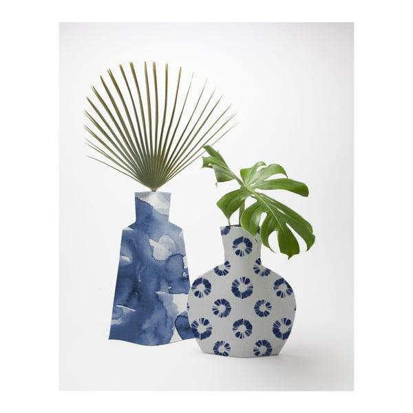 Flower Vases Azul 2 darab kaspó - Surdic