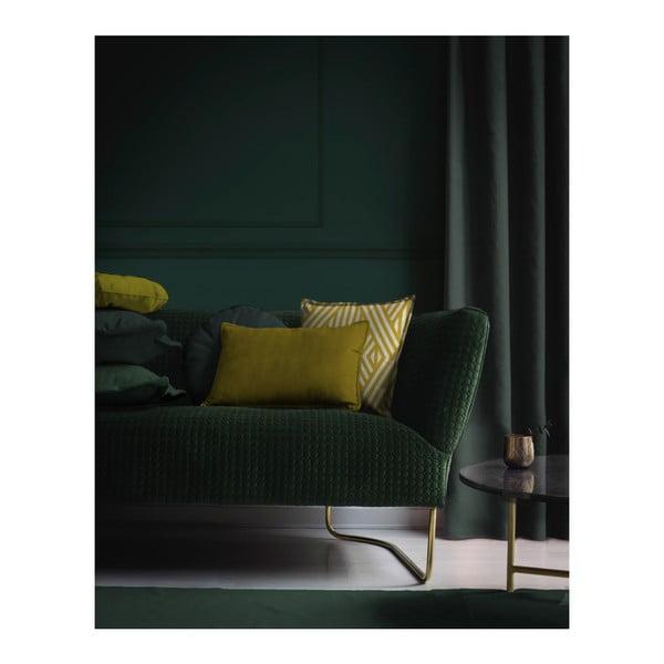 Dekorativní polštář Velvet Atelier Goldie, 50 x 35 cm