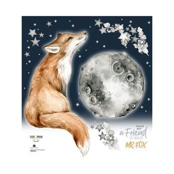 Autocolant de perete Dekornik Mr. Fox, vulpe imagine