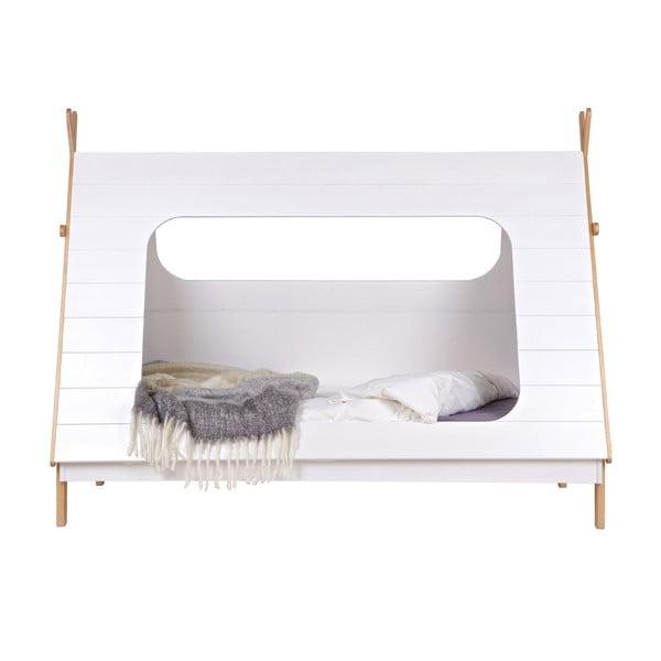 Bílá dětská postel De Eekhoorn Tipi, 90x200cm