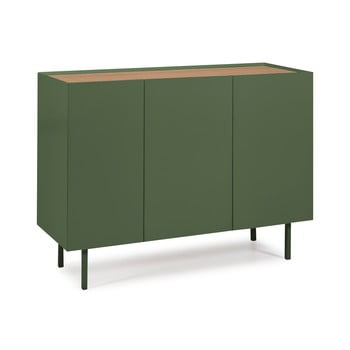 Comodă Teulat Arista, lățime 110 cm, verde imagine