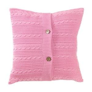 Pletený polštář s náplní Pinkie