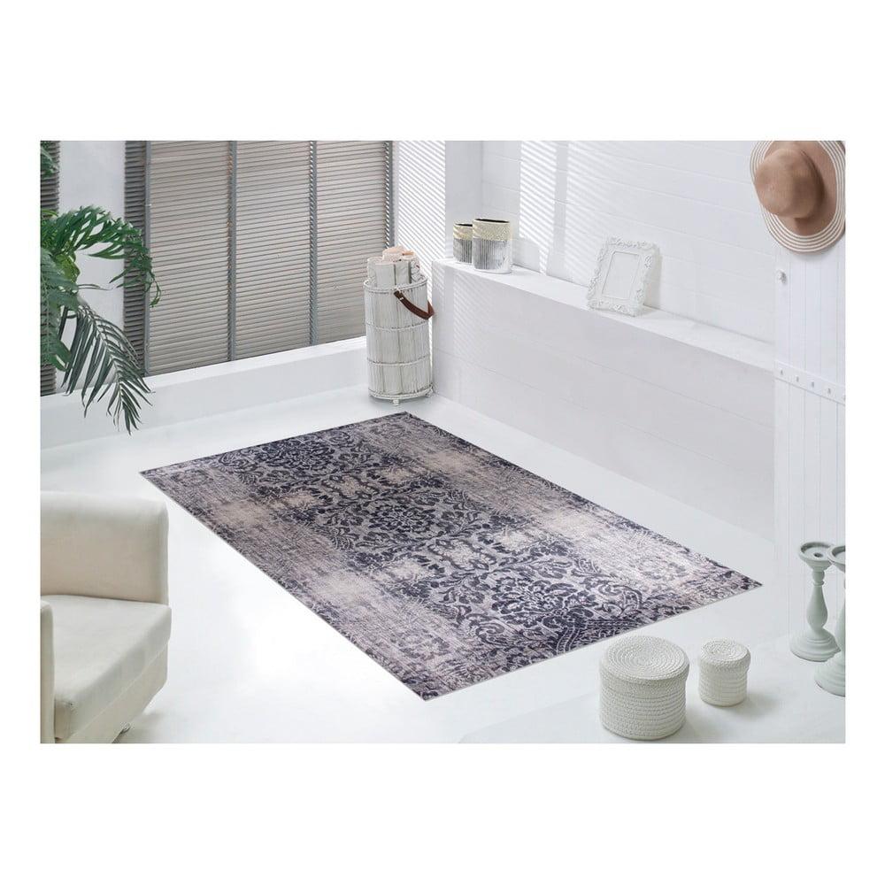 Produktové foto Šedobéžový koberec Vitaus Becky,80x150cm