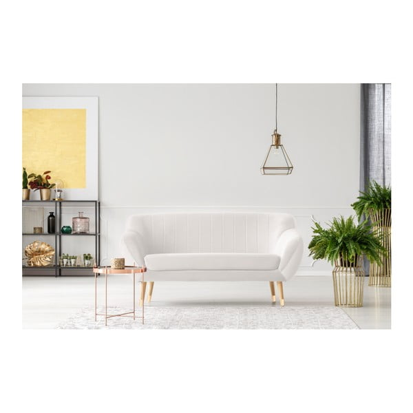 Canapea cu 2 locuri Mazzini Sofas Benito, crem