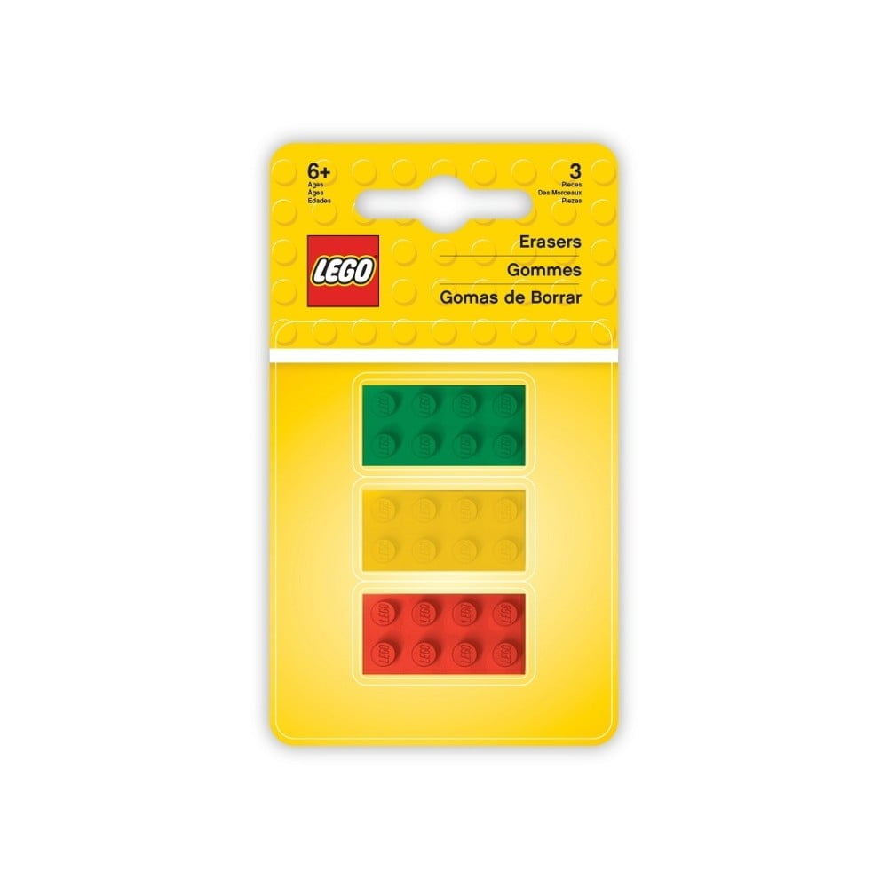 Sada 3 gum LEGO® Iconic Bricks
