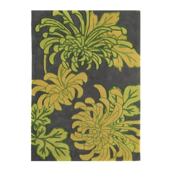 Koberec Harlequin Flora Green, 200x300 cm
