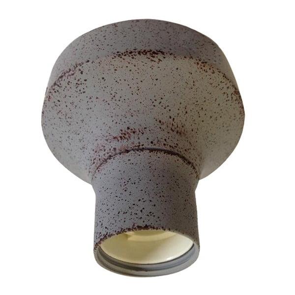 Szara lampa sufitowa ETH Tasso