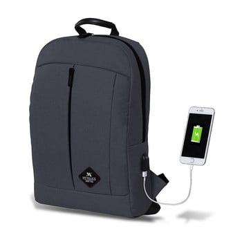 Rucsac cu port USB My Valice GALAXY Smart Bag, antracit de la Myvalice