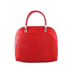 Červená kabelka z pravé kůže GIANRO' Illusion