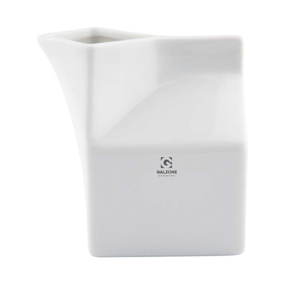 Bílý džbánek na smetanu KJ Collection, 250ml