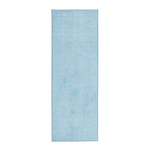 Modrý běhoun Hanse Home Pure, 80x300cm