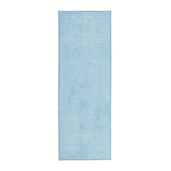 Modrý koberec Hanse Home Pure, 80x150cm