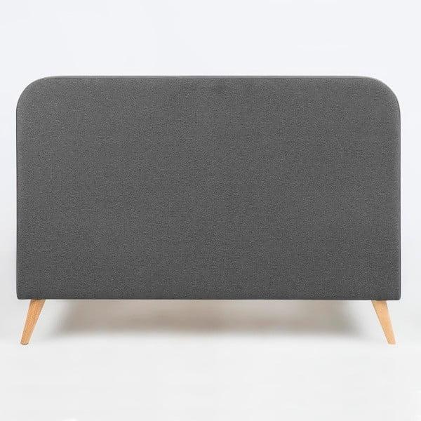 Postel Agnes, 140x200 cm, šedá