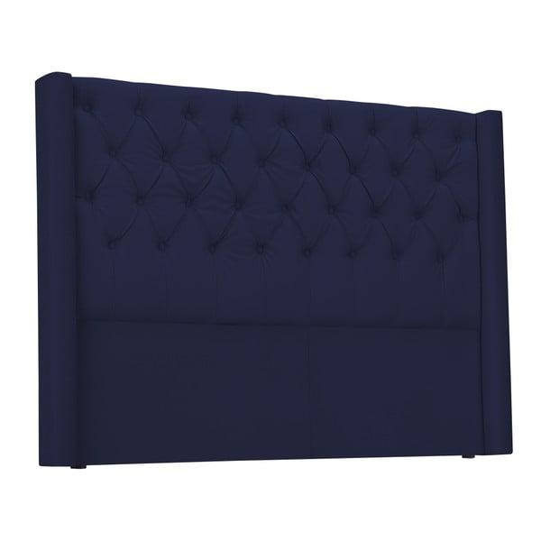 Modré čelo postele Windsor & Co Sofas Queen, 176 x 120 cm