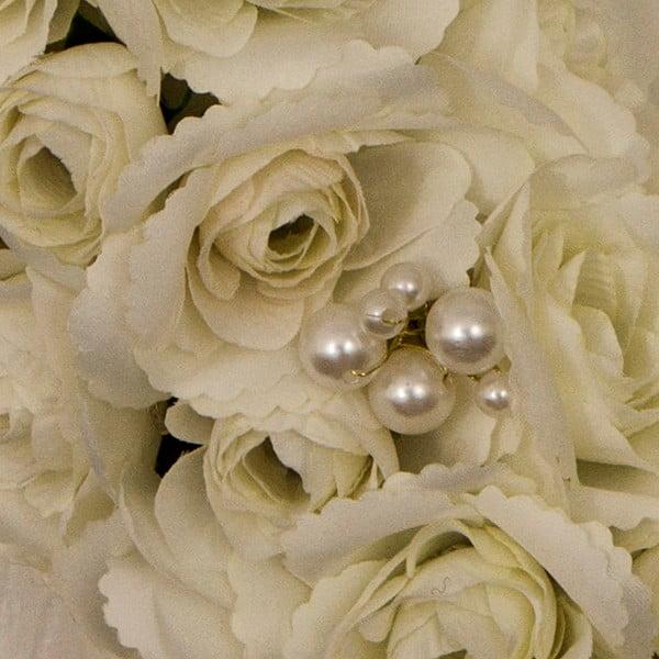 Svatební věnec s LED světly Pearl Wreath