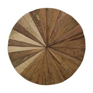 Dřevěná nástěnná dekorace HSM Collection Sun, Ø 60 cm