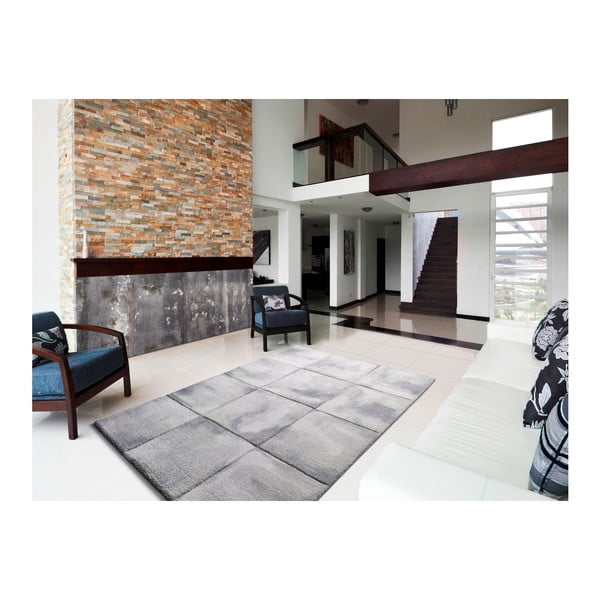 Šedý koberec Universal Shade Grey, 80x150cm