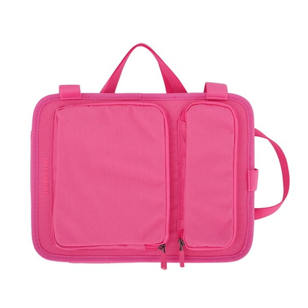 """Taška na notebook 10"""" Moleskine, růžová"""