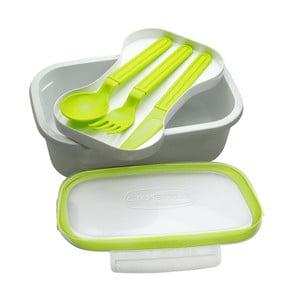 Zelený svačinový box Buon Appetito