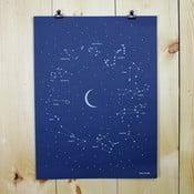 Plakát Constellation, 61x46 cm