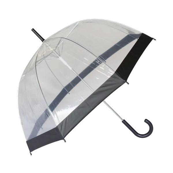 Transparentní deštník Susino Noir Transparent