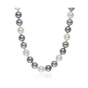 Perlový náhrdelník Pearls Of London Mystic Rose, 45 cm