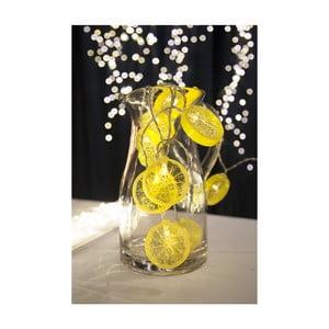Decoraţiune luminoasă LED Best Season Fruity Lemons, 10 becuri