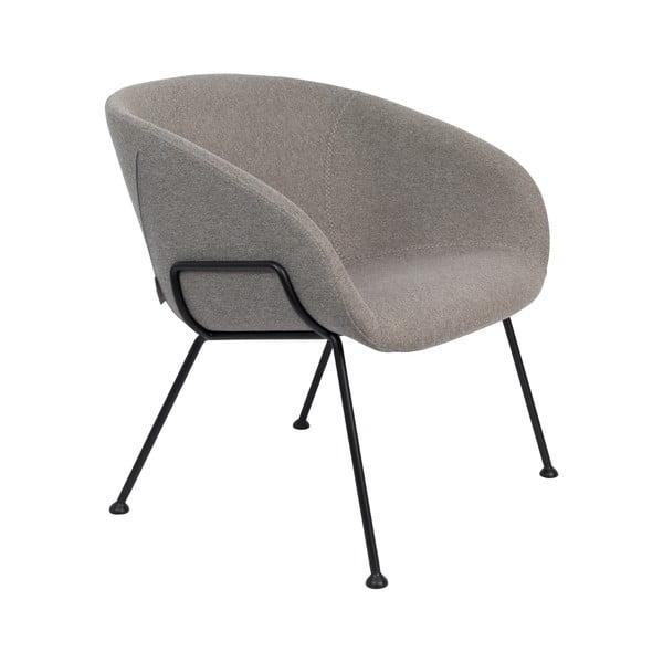 Feston szürke műbőr szék - Zuiver