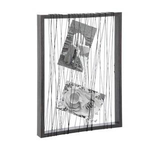 Provázkový stojan na fotky J-Line Rope Frame, 32x24 cm