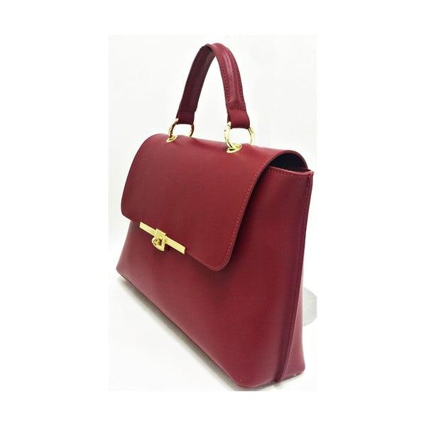Kožená kabelka Lilu Red