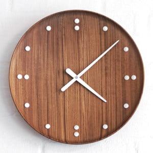Nástěnné hodiny z teakového dřeva Architectmade FJ