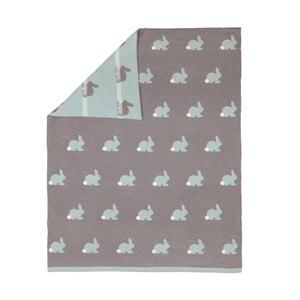 Dětská deka Art For Kids Rabbity, 80x100cm