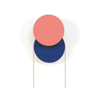 Cârlig de perete HARTÔ Lou, roșu – albastru de la HARTÔ