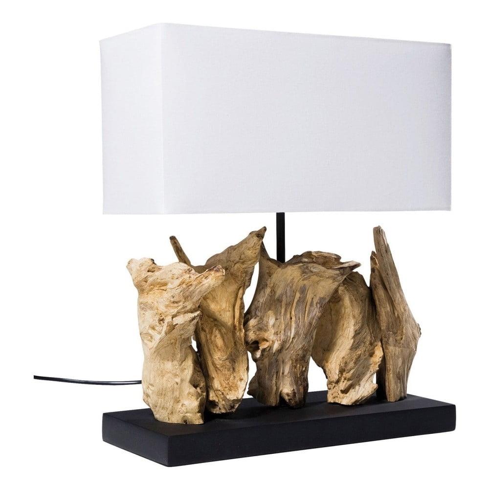 Bílá stolní lampa Kare Design Vertical