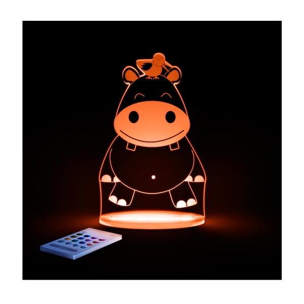 Dětské LED noční světýlko Aloka Hippo