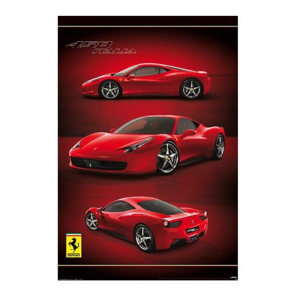 Velkoformátová tapeta Ferrari, 158x232 cm