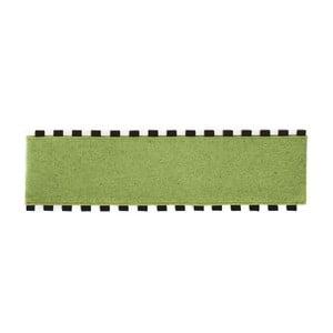 Tapperello Green, koberec 120x35 cm