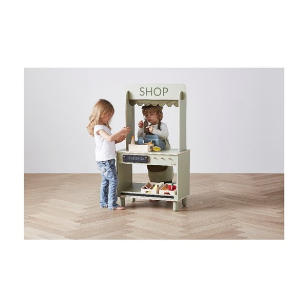 Dřevěný dětský hrací set Flexa Toys Shop Fruits