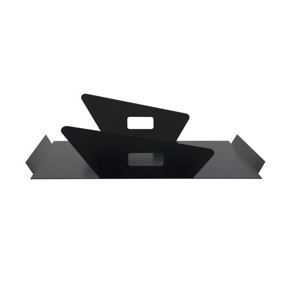 Kovový podnos Gie El 50x43 cm, černý