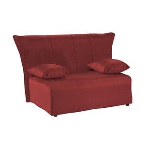 Canapea extensibilă cu 2 locuri 13Casa Cedro, bordo