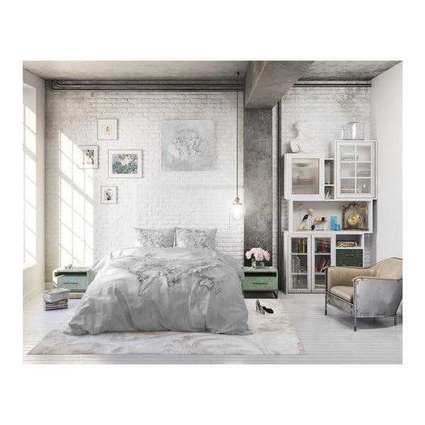 Bavlněné povlečení na dvoulůžko Sleeptime World, 200 x 220 cm
