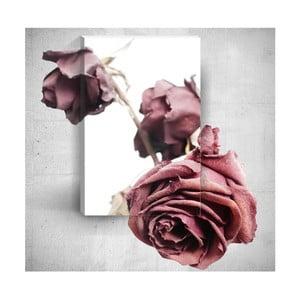 Nástěnný 3D obraz Mosticx Old Roses, 40 x 60 cm
